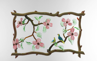 Dogwood & Birds Frame